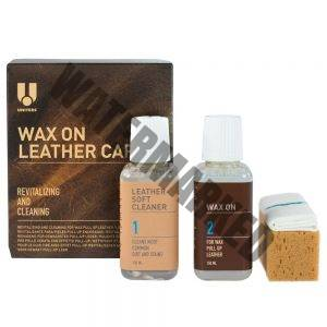 UNITERS wax on leather care kit mid