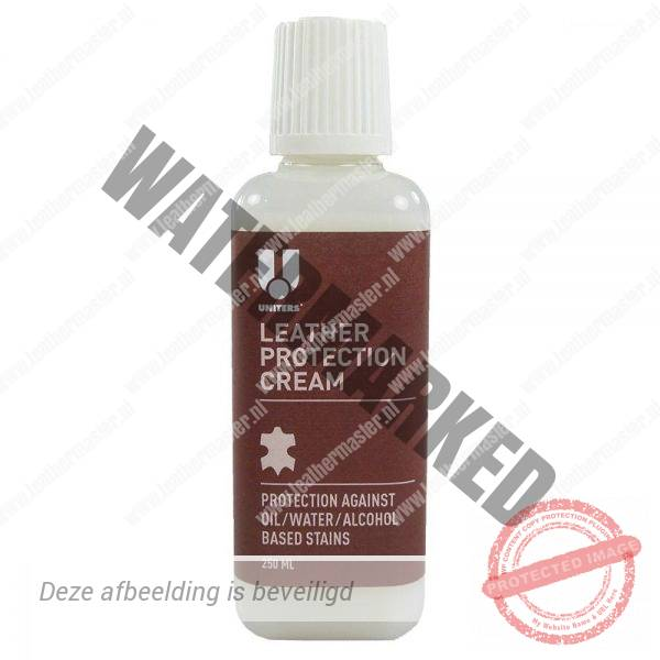 uniters leather protection cream 250ml leer beschermen